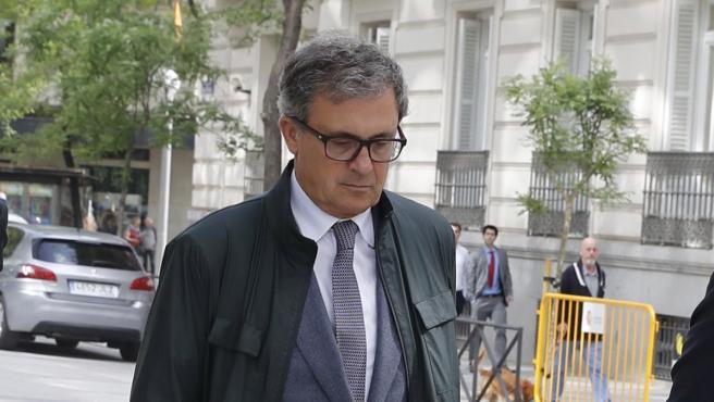 Jordi Pujol Ferrusola comparece en la Audiencia Nacional.