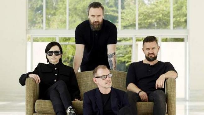 Imagen de la banda The Cranberries.