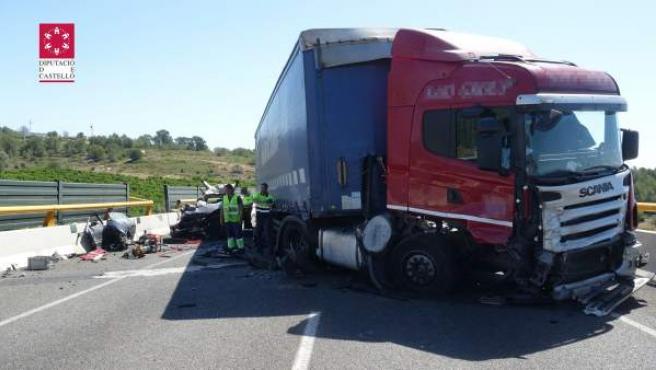 Imatge de l'accident de Torreblanca