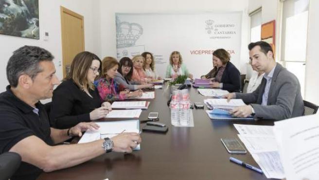 Reunión de la Mesa de Servicios Sociales