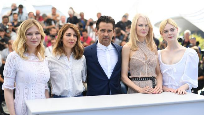 """Cannes 2017: Sofia Coppola: """"Intenté abrazar el gore en 'La seducción"""""""