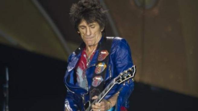 Ronnie Wood, durante un concierto de Rolling Stones.
