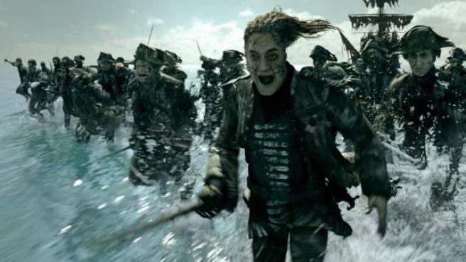 Javier Bardem interpreta al capitán Salazar en 'Piratas del Caribe: la venganza de Salazar'.