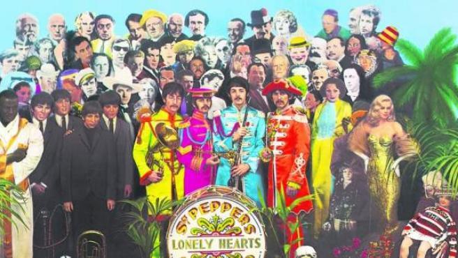 Portada de la edición del 50 aniversario de 'Sgt. Pepper's Lonely Hearts Club Band', de los Beatles.