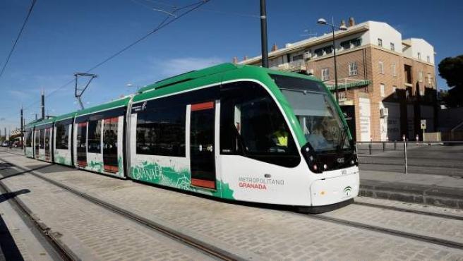 Metro de Granada, en pruebas