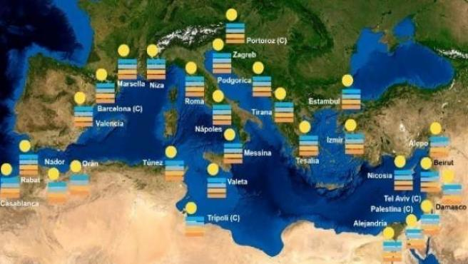 Mapa de l'activitat 'Cinema Mediterrani'