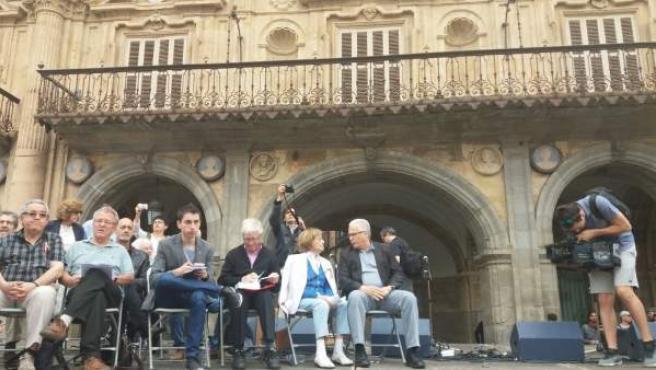 Salamanca.- Garzón, en el acto de retirada del medallón
