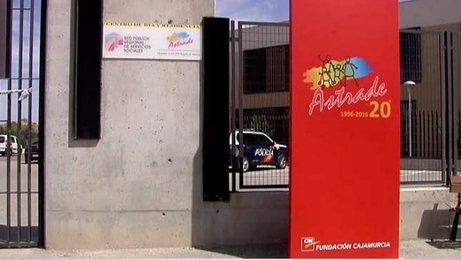 Imagen del centro de atención a personas con trastornos en el desarrollo donde una empleada ha muerto a manos de un compañero de trabajo en Murcia.
