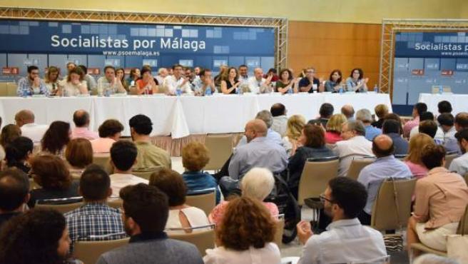 Congresillo congreso provincial extraordinario PSOE de Málaga al federal 2017