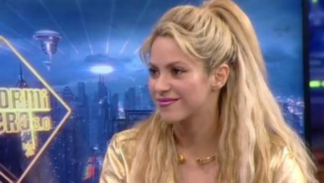 Shakira visita 'El hormiguero'.