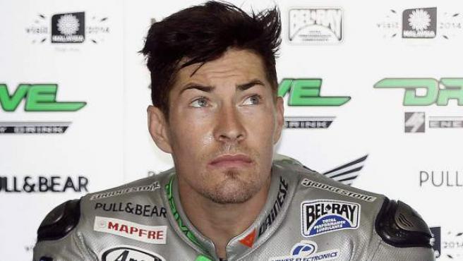 Fotografía de Archivo del piloto de motociclismo estadounidense Nicky Hayden.