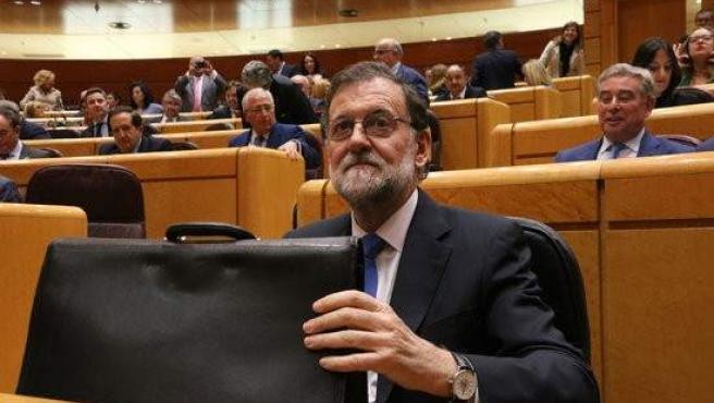 En la imagen, el presidente del Gobierno, Mariano Rajoy.
