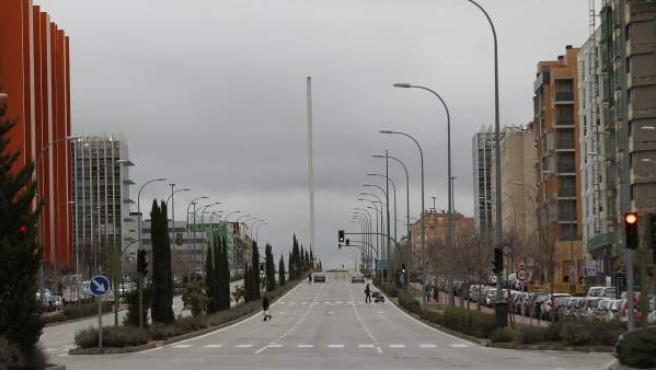 Fotografía del Ensanche de Vallecas (Madrid).