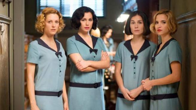 Las cuatro protagonistas de 'Las chicas del cable'.