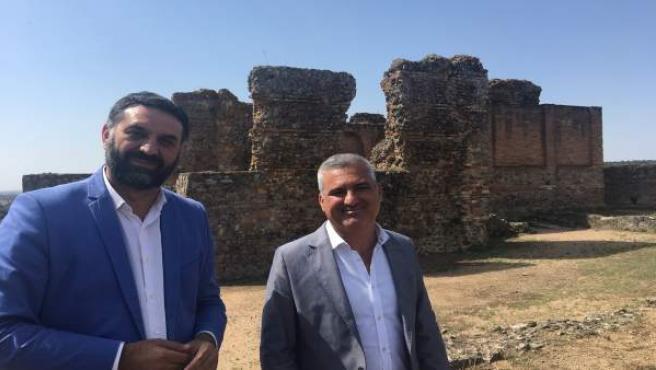 El consejero de Turismo y Deporte, Francisco Javier Fernández, visita Munigua