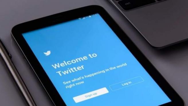 Registro de una cuenta en Twitter.