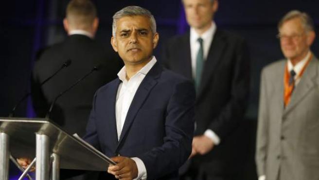 El laborista Sadiq Khan, alcalde de Londres.