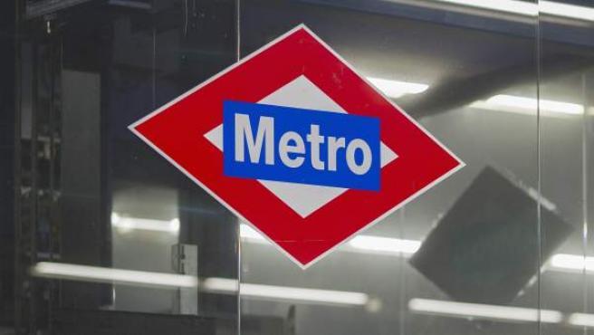 Logo de Metro de Madrid.