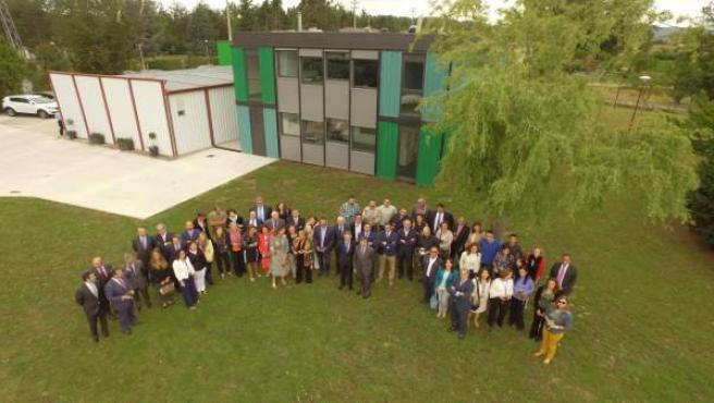 Burgos: Foto de familia de la i nauguración