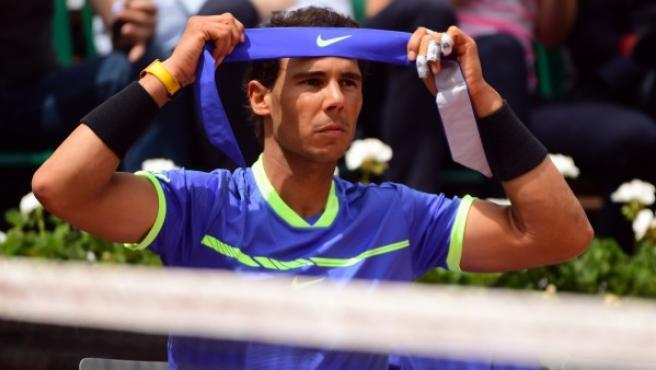 Nadal, en Roland Garros.