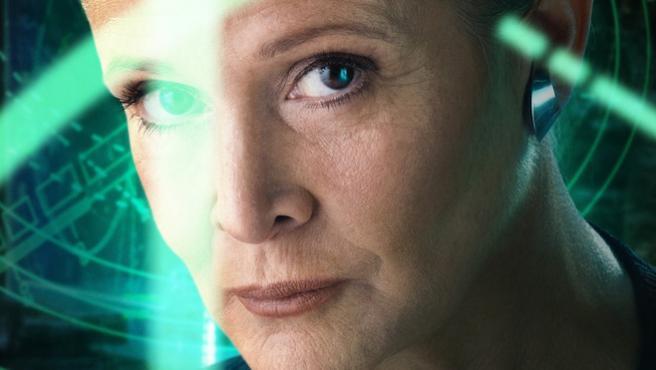 """El Episodio IX de 'Star Wars' habría sido """"la película de Carrie Fisher"""""""