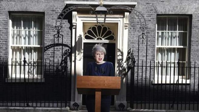 Theresa May anuncia su decisión de convocar elecciones generales anticipadas.