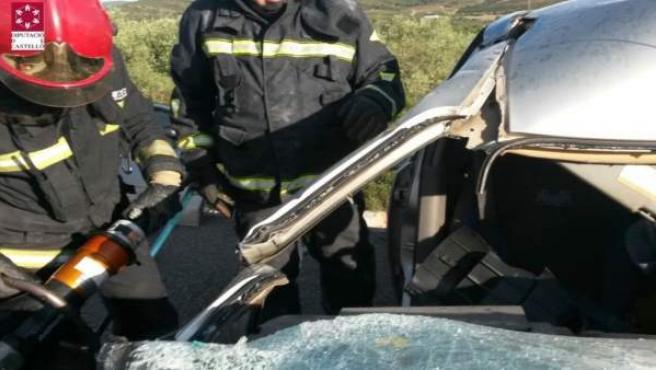 Accidente de tráfico en Alcalà de Xivert