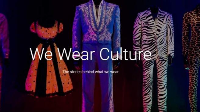 Proyecto de moda de Google We Wear Culture.
