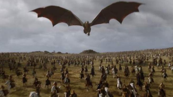Una escena de la séptima temporada de Juego de tronos.