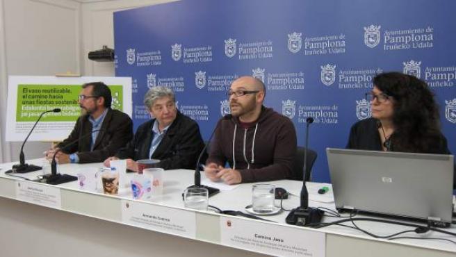 Martine Bisauta, Armando Cuenca y Camino Jaso