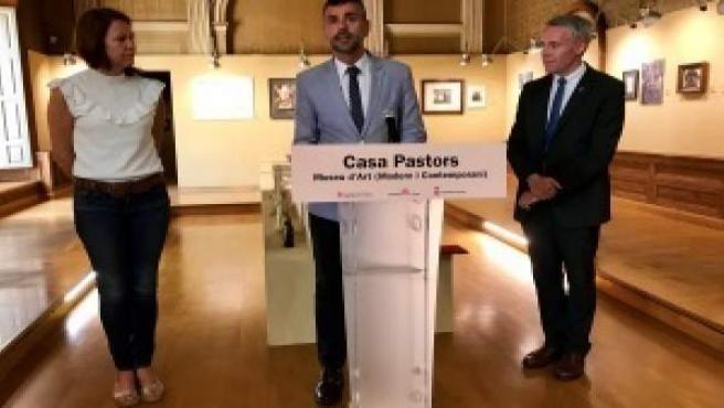 El conseller Santi Vila en la presentación de Casa Pastors