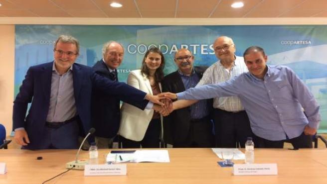 Acuerdo entre borges Agricultural & Industrial Nuts y la Cooperativa de Artesa
