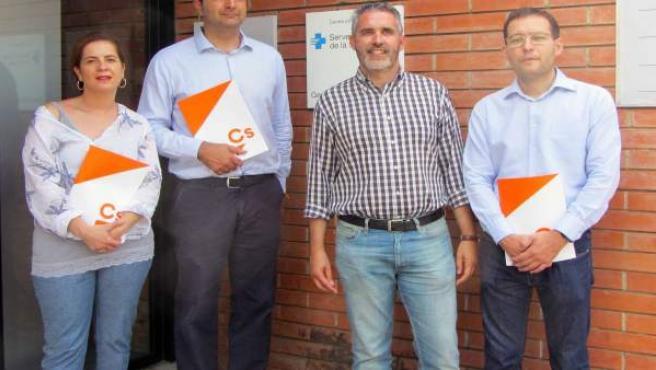 El diputado en el Parlament de Cs, Jorge Soler