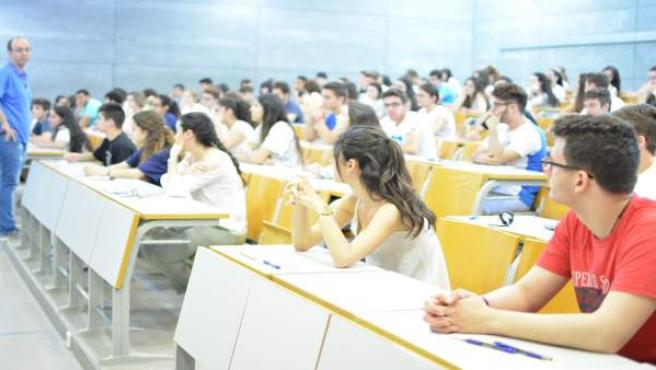 Selectividad, estudiantes