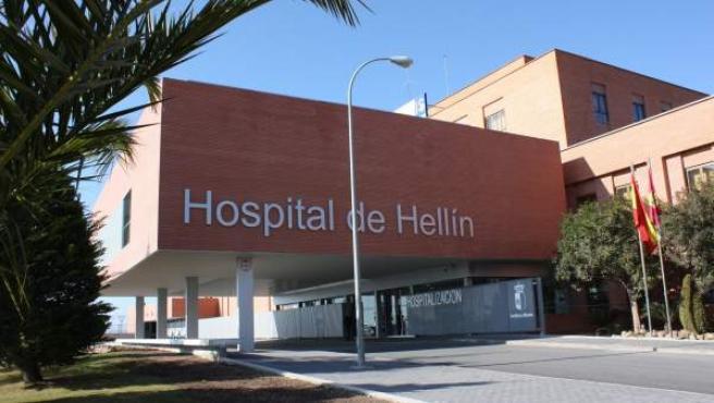 Imagen de archivo de la fachada del Hospital de Hellín.