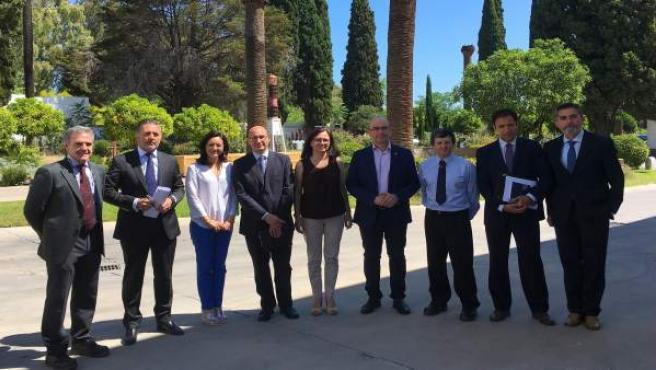 Visita de la delegada de la Junta en Córdoba a ABB