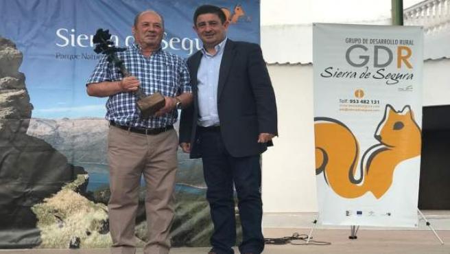 Francisco Reyes en el Día de la Comarca segureña