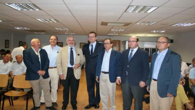 Reunión de Pekka Pesonen con la junta directiva de Asaja Córdoba