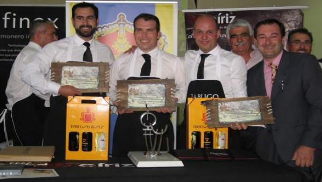 Entrega de premios del VI Concurso de Cortadores de Corteconcepción