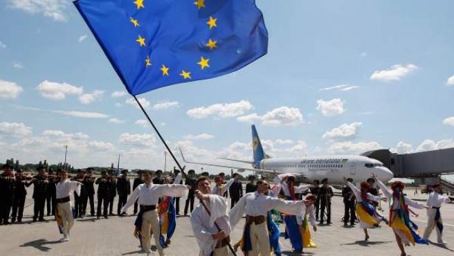 Ucrania celebra la apertura de fronteras con la UE.