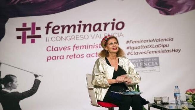 La exministra ha destacado el papel de la cultura por la igualdad