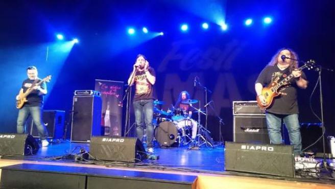 Mad Rover en concierto.