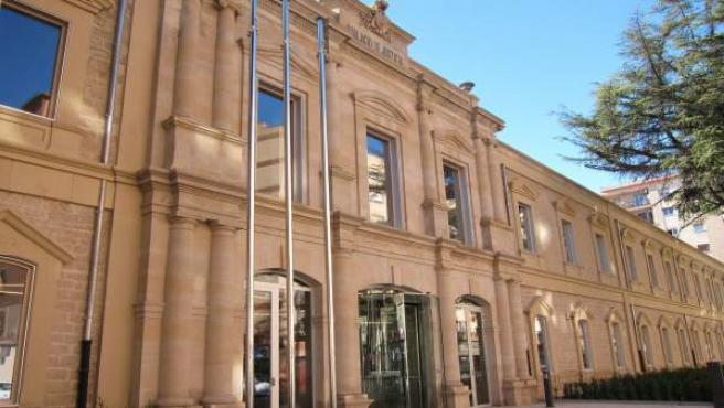 Palacio de Justicia de La Rioja exterior