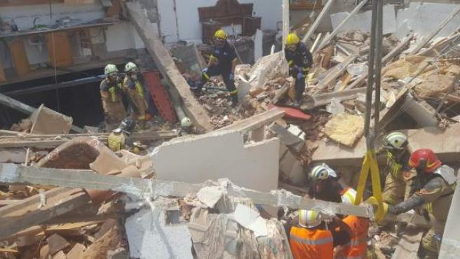 Siguen ingresados los albañiles heridos en el derrumbe de una casa en Nuévalos.