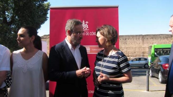 Isabel Ambrosio con Felipe López
