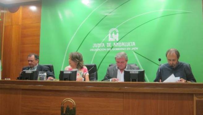 Presentación del Plan Infoca en la provincia de Jaén para 2017.