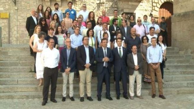 Vara en presentación de gran sorteo 'Un año de turismo por Extremadura'