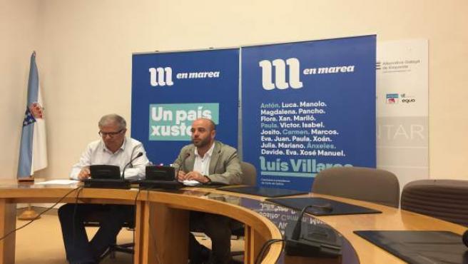 Rueda de Luís Villares de En Marea.