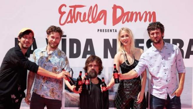 Presentación del corto de Estrella Damm.