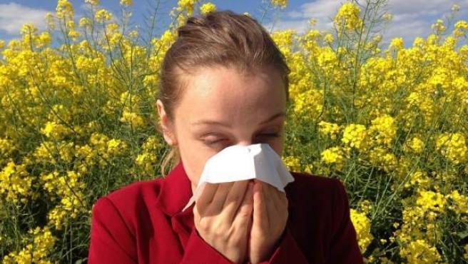 La alergia se ha disparado durante los últimos años.